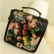 Charming and Alluring Hasp Design and Floral Oil P
