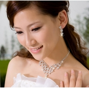 Fashion Dignified Special Design Crystal Wedding J