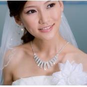 Fantastic Diamond Embellished Geometry Shaped Wedd