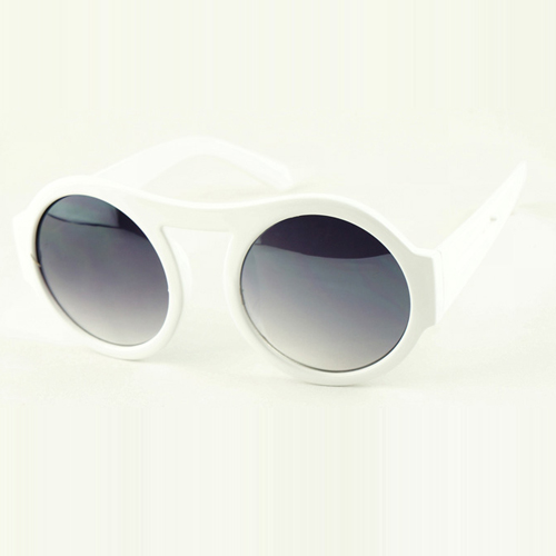Fashion White Sunglasses