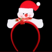 Cheap Fashion Single Snowman Shaped Red Christmas