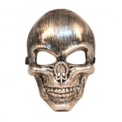 Fashion Skeleton Shaped Silver PVC Mask