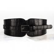Fashion Black PU Belts