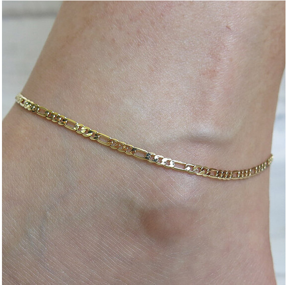 Fashion Creative Gold Metal The Ankle Chain