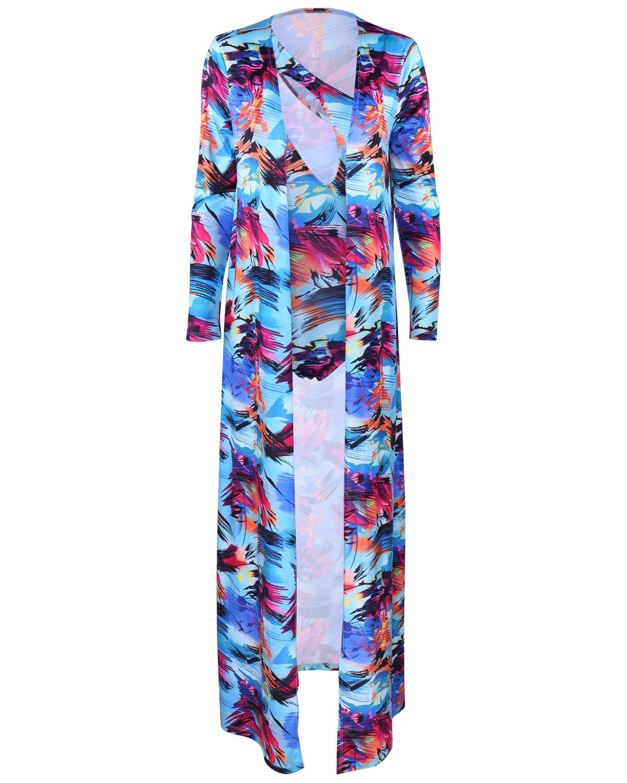 impreso atractivo del traje de baño Qmilch hueco-hacia fuera (de dos piezas)