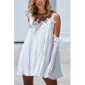 Linen Bohemian V Neck Long Sleeve Dresses