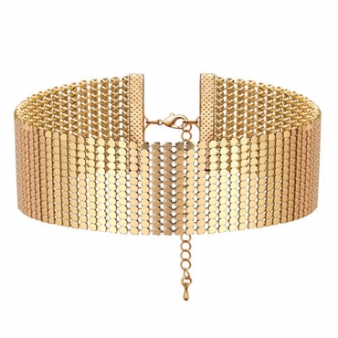 Fashion Gold Metal Necklace