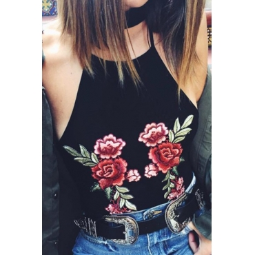 Print Camisole&Tank Top