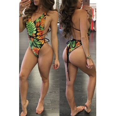 Nylon Print One Pieces