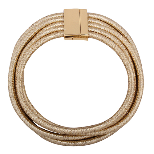 Euramerican Multilayer Gold Metal Necklace