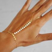 Euramerican Gold Metal Bracelet(Single)