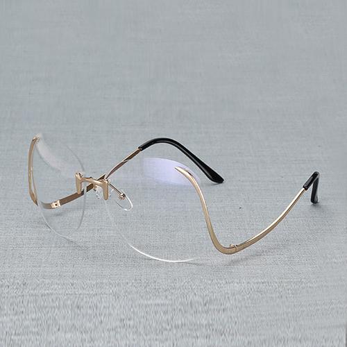 Gafas de sol de la PC de la manera blanca