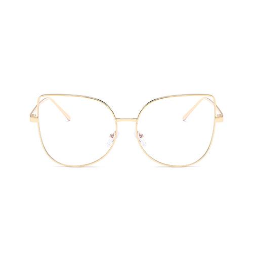 Fashion Gold Metal Sunglasses