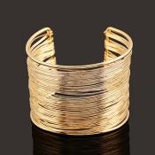 Mode Gold Metall Armband