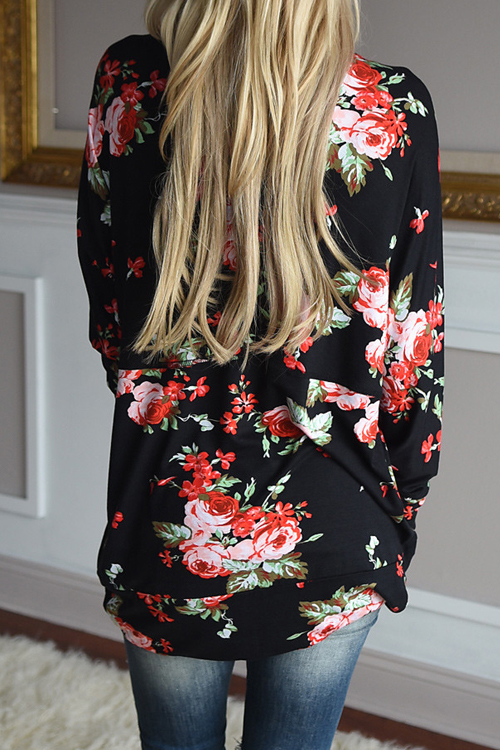 Lovely Beauty In Bloom Floral Coat
