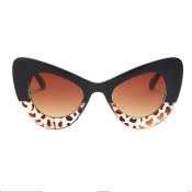 Stylish Printed Patchwork PC Sunglasses