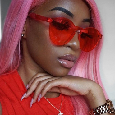Fashion Red PC Sunglasses