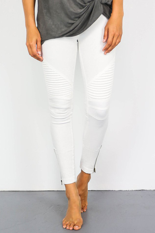 Ready For Anything Zipper Casual Pant