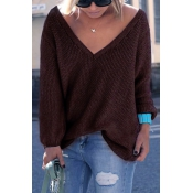 Start Me Up V Neck Sweater