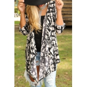 In the Streets Casual Asymmetrical Cardigan(Non Po