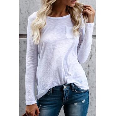 Vi vediamo Casual White T-camicia