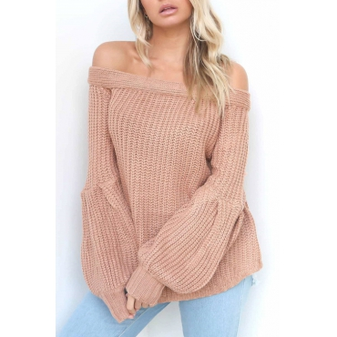 Live At Lantern Sleeve Solid Sweater