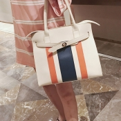Fashion Patchwork White PU Clutches Bags