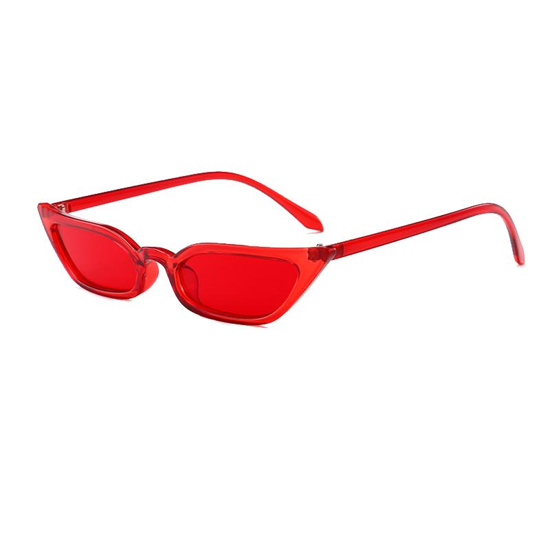 Gafas De Sol De Moda PC Rojo
