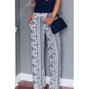 Lovely Fashion Mid Waist Non Positioning Printing