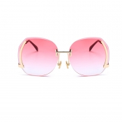 Lovely Trendy Pink Plastic Sunglasses