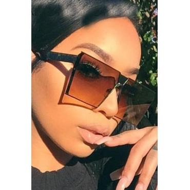 Lovely Trendy Orange PC Sunglasses