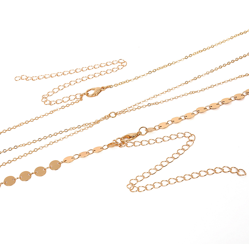 Lovely Fashion Gold Metal Body Chain