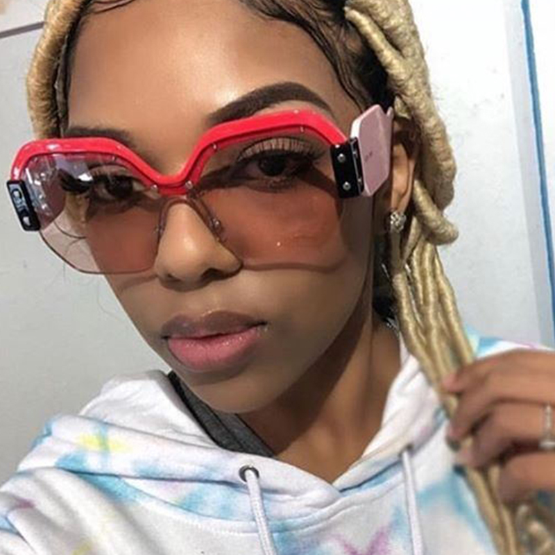 Lovely Euramerican Light Pink PC Sunglasses