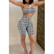 Lovely Trendy Spaghetti Strap  White Two-piece Shorts Set