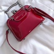 Lovely Fashion Cat Shape Red Shoulder Bags