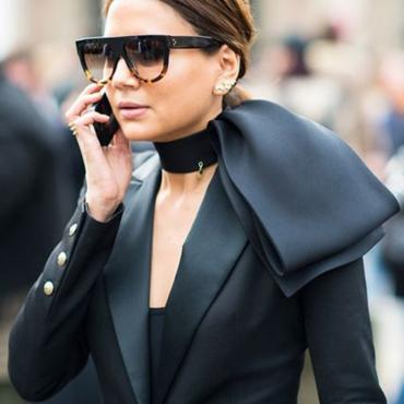 Lovely Fashion Square Frame Black PC Sunglasses