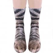 Lovely Chic Animal Coffee Socks
