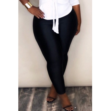 Lovely Chic Skinnny Black Pants