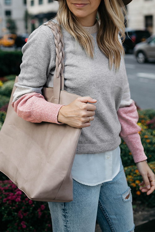 Lovely Casual Long Sleeves Grey Sweaters