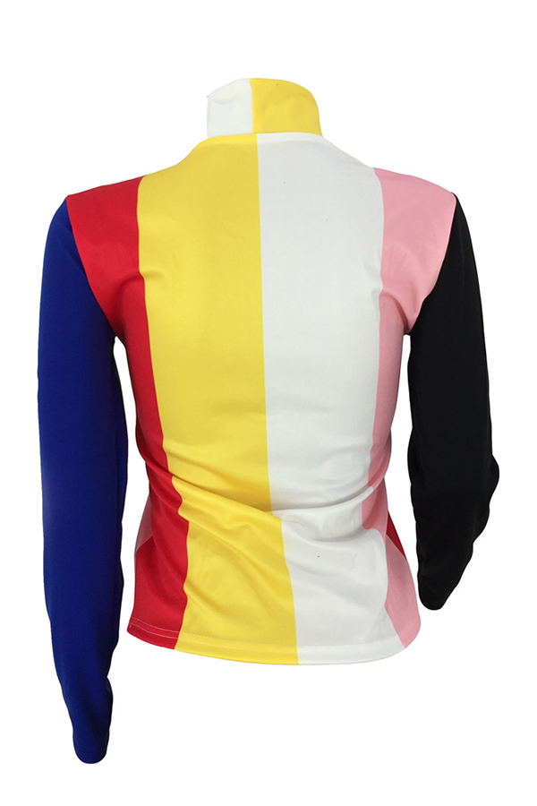 Lovely Trendy Striped Patchwork Base Layers