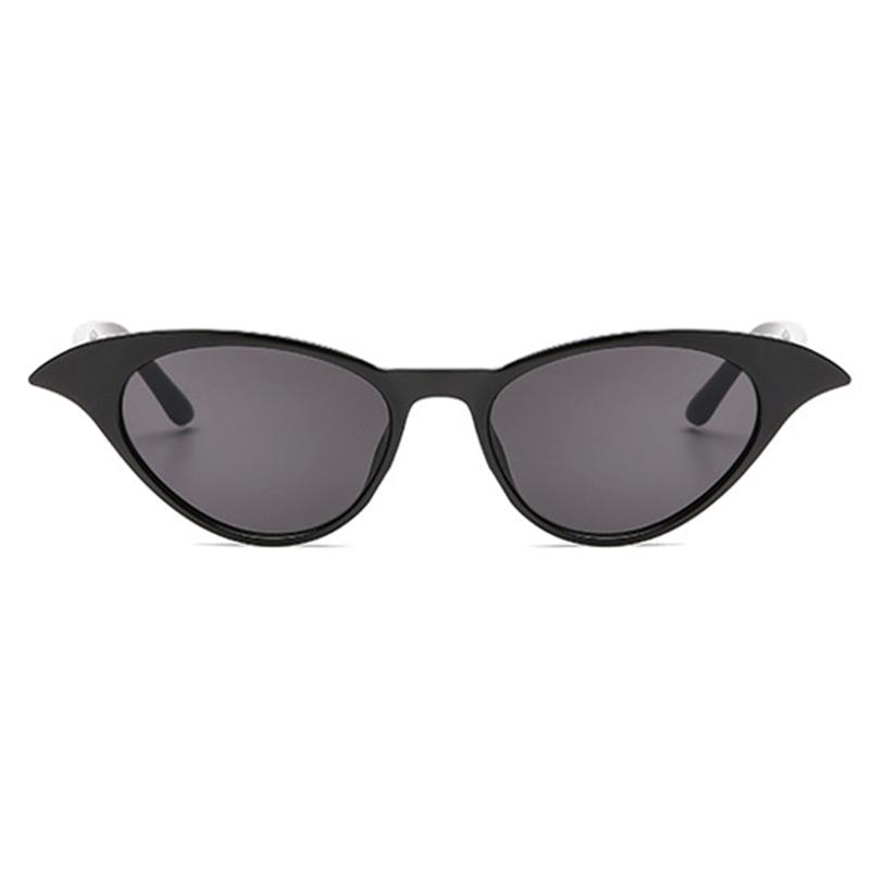 Schöne Trendige Katzenaugenrahmendesign Schwarz PC-Sonnenbrille