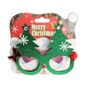 Lovely Fashionable Christmas Elk Green PC Sunglass