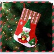 Lovely Fashion Snowman Christmas Socks