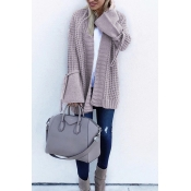 Lovely Fashion Long Sleeves Light Purple Sweater C