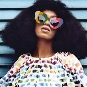 Lovely Chic Striped Frame Design Multicolor PC Sunglasses