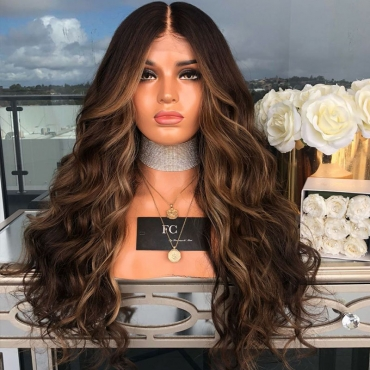 Lovely Fashion Brown Long Curly Wigs