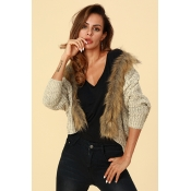 Lovely Chic Batwing Sleeves Acrylic Cardigan Sweat