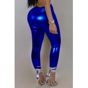Lovely Trendy Skinny Blue Pants