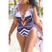 Lovely Sexy Hollowed-out White One-piece Swimwears (With Cover-Ups)