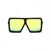 Lovely Stylish Square Frame Design Yellow PC Sunglasses